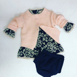BLOSSOMS - 100% ORGANIC COTTON BABY KNIT