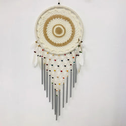 DREAMY DREAM CATCHER WITH WIND CHIMES