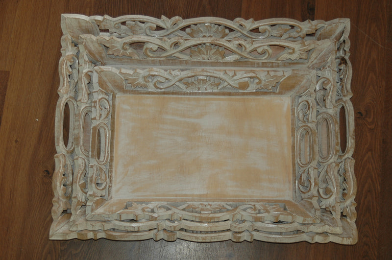Set of 3 Wooden Trays