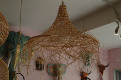 Rattan 'Typhoon' Lampshade