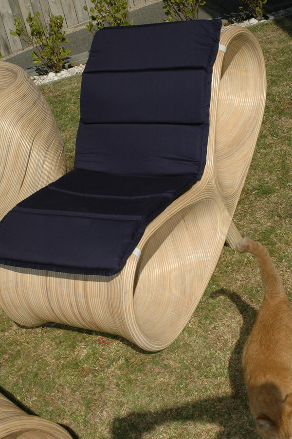 Rattan Outdoor 2 Piece Lounger Seat