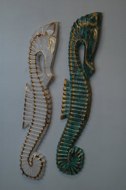 Seahorse wall decoration