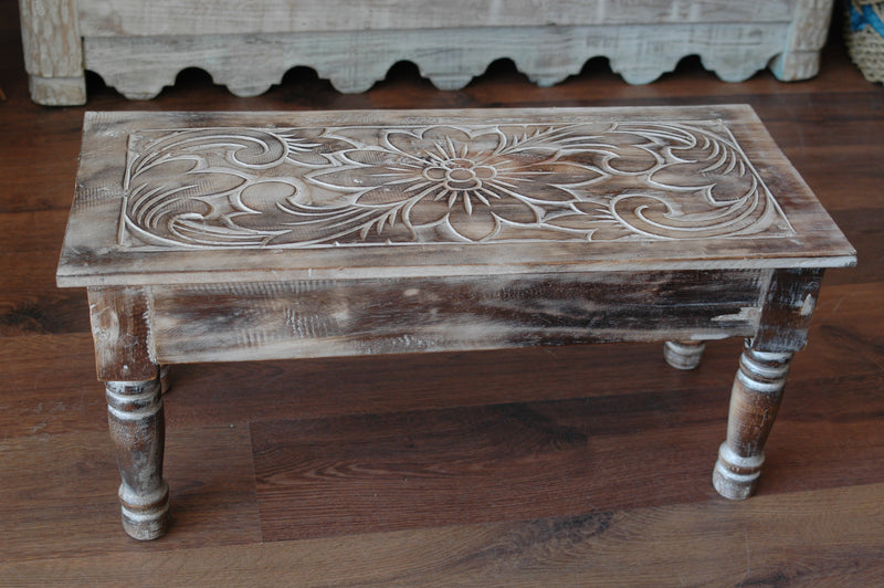 Small carved table