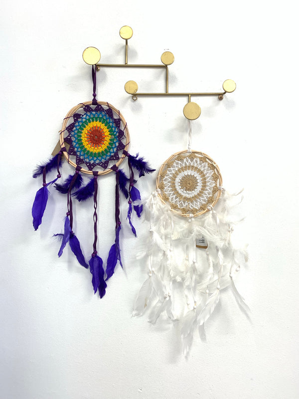 RATTAN RAINBOW DREAM CATCHER OPTIONS