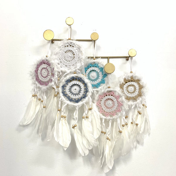 SMALL FLUFFY DREAM CATCHER