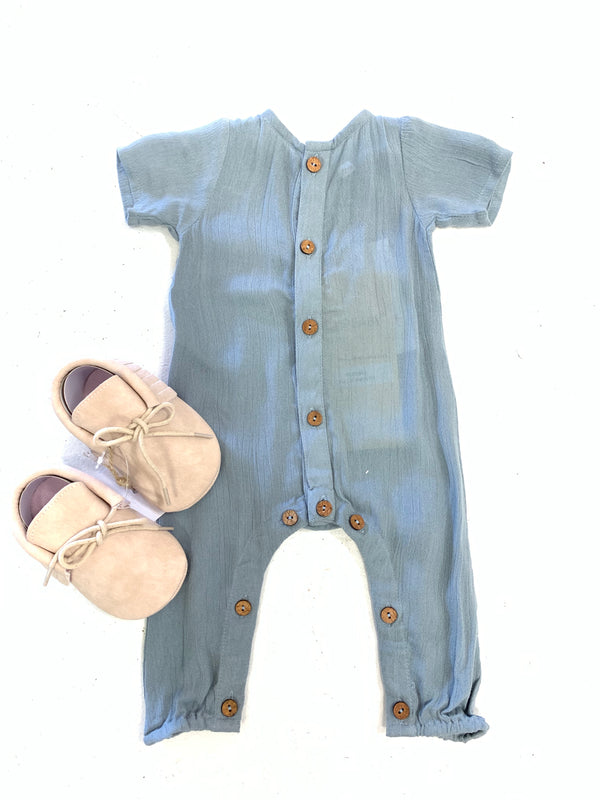 BLOSSOMS - BABY BOY ROMPER