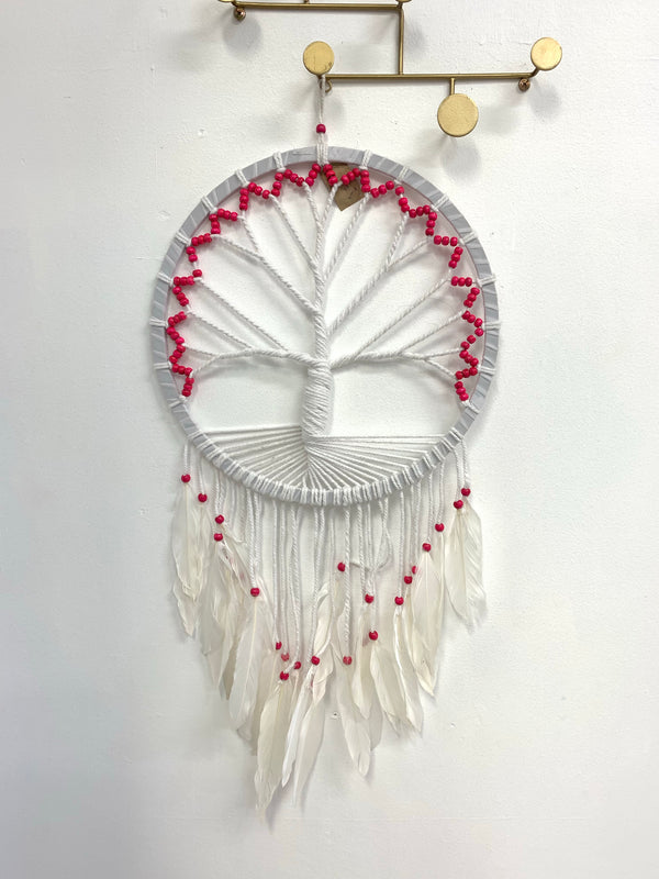 BLOSSOMS - LARGE TREE OF LIFE DREAM CATCHER