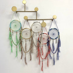 JEWEL & TASSEL DREAM CATCHER