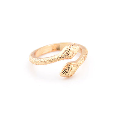 Gold / Silver Color Snake Shaped Ring for Women