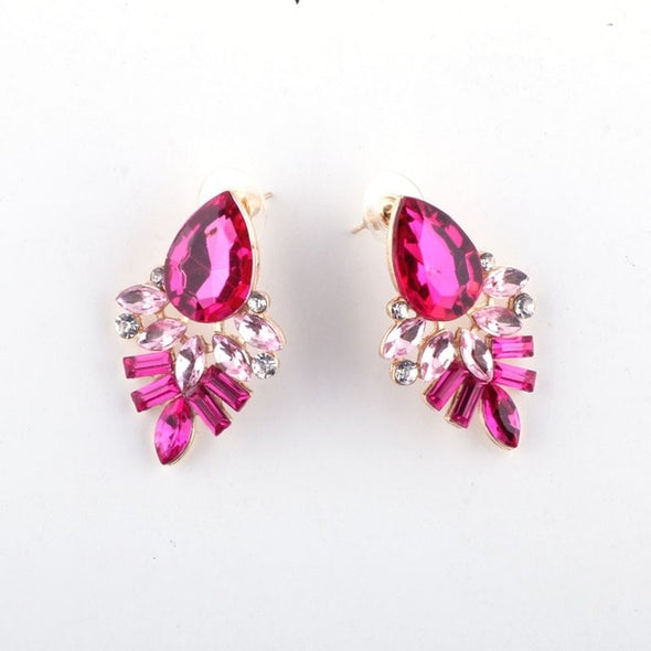Handmade Rhinestone Earring for Girls