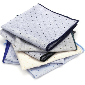Luxury 100% Cotton Classic Men Handkerchief