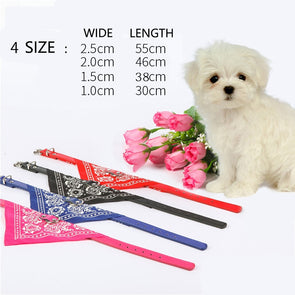 Turban Scarf Traction Collar for Pets