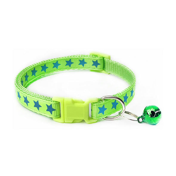 Collar With Adjustable Buckle for Pets