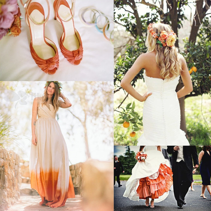 Summer Wedding Inspiration - Orange Wedding