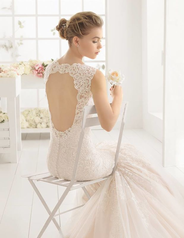Sexy Backless Tulle Trumpet Wedding Dress - Mr. & Mrs. Tomorrow
