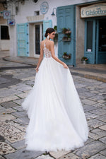 Sexy Illusion Sweetheart A-Line Wedding Dress - Mr. & Mrs. Tomorrow