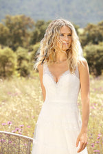 Simple Boho Sleeveless V Neck Sheath - Mr. & Mrs. Tomorrow
