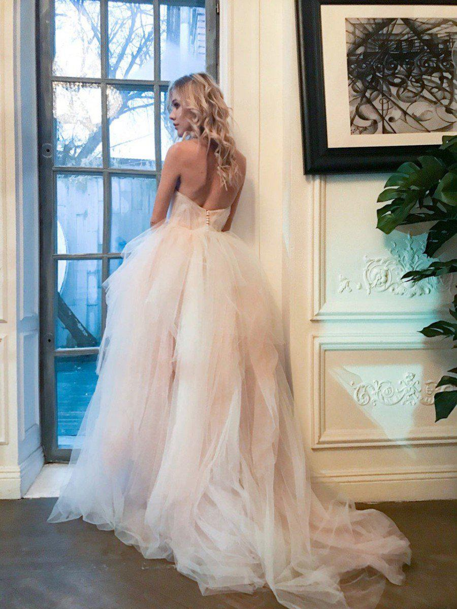 Sweetheart A-Line Wedding Dress with Layered Tulle - Mr. & Mrs. Tomorrow