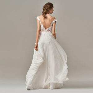 Illusion Boho Open Back A-Line - Mr. & Mrs. Tomorrow