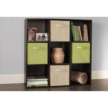 Colorful 9 Cube Storage Organizer