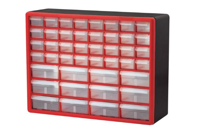 Akro-Mils 44-Drawer Hardware & Craft Plastic Cabinet – Only $23.40!