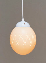 Load image into Gallery viewer, Natural ostrich eggshell pendant light