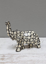Load image into Gallery viewer, Mini Mosaic eggshell elephant