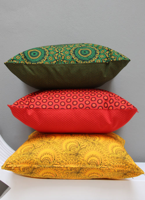 Mixed set of Shwe-shwe scatter cushions
