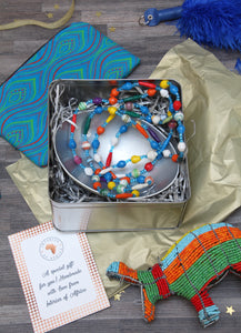 Christmas African collection gift tin