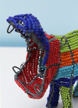 Load image into Gallery viewer, Multi-coloured beaded hippopotamus