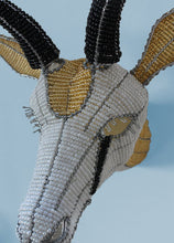 Load image into Gallery viewer, Beaded springbok wall piece