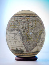 Load image into Gallery viewer, Decoupage elephant ostrich egg