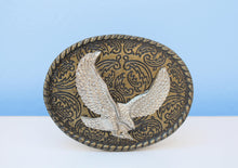 Load image into Gallery viewer, Brass African eagle belt buckle