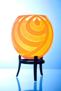 Teardrop themed ostrich egg tealight holder