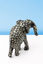 Load image into Gallery viewer, Mosaic eggshell elephant
