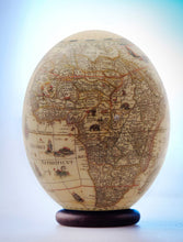 Load image into Gallery viewer, Decoupage ostrich egg