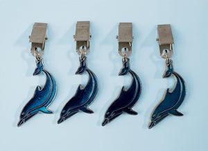 Dolphin tablecloth weights