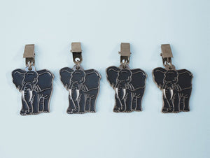 Elephant tablecloth weights