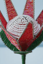 Load image into Gallery viewer, Beaded king protea