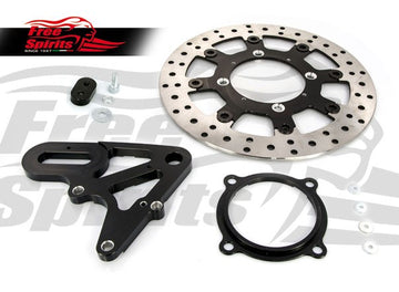 Street Scrambler & Bonneville T100/T120 Upgrade Floating Rear Brake Rotor