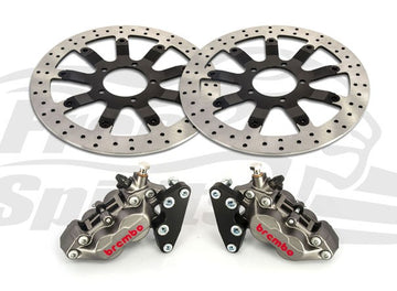 Brake Upgrade Kit for Triumph Bonneville T120 (calipers & rotors 340mm)
