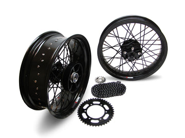 Thruxton R 40 Spoke Alloy Wheel Kit Stage 1
