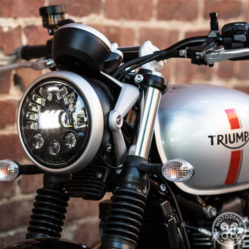 Motodemic LED Headlight -Street Twin