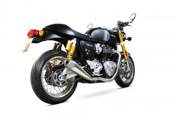Scorpion Thruxton 1200 De-Cat Header Pipes