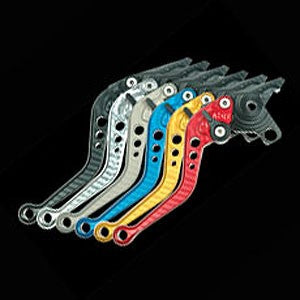 Pazzo Racing 6 Way Adjustable Levers - Short