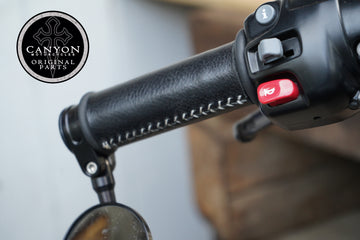 Canyon Leather Grip Covers