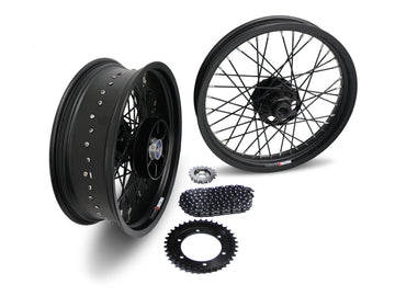Street Scrambler 40 Spoke Alloy Wheel Kit Stage 1