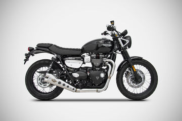 Zard Street Scrambler 2 into 1 Special Edition Low Exhaust