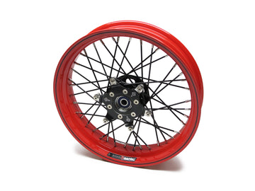 Thruxton Special Red 17x5.5, 17x3.5