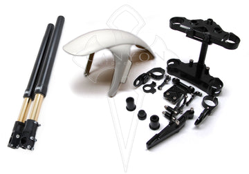 Andreani Triple Tree kit and Öhlins R&T Fork FG424/324 - Bonneville T100 (2001-2015)